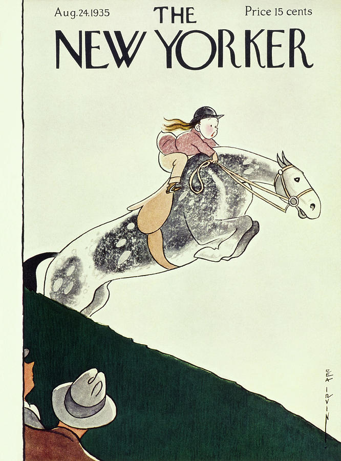 New Yorker August 24 1935 Painting by Rea Irvin