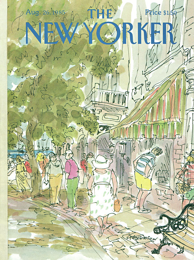 New Yorker August 26th, 1985 Painting by James Stevenson