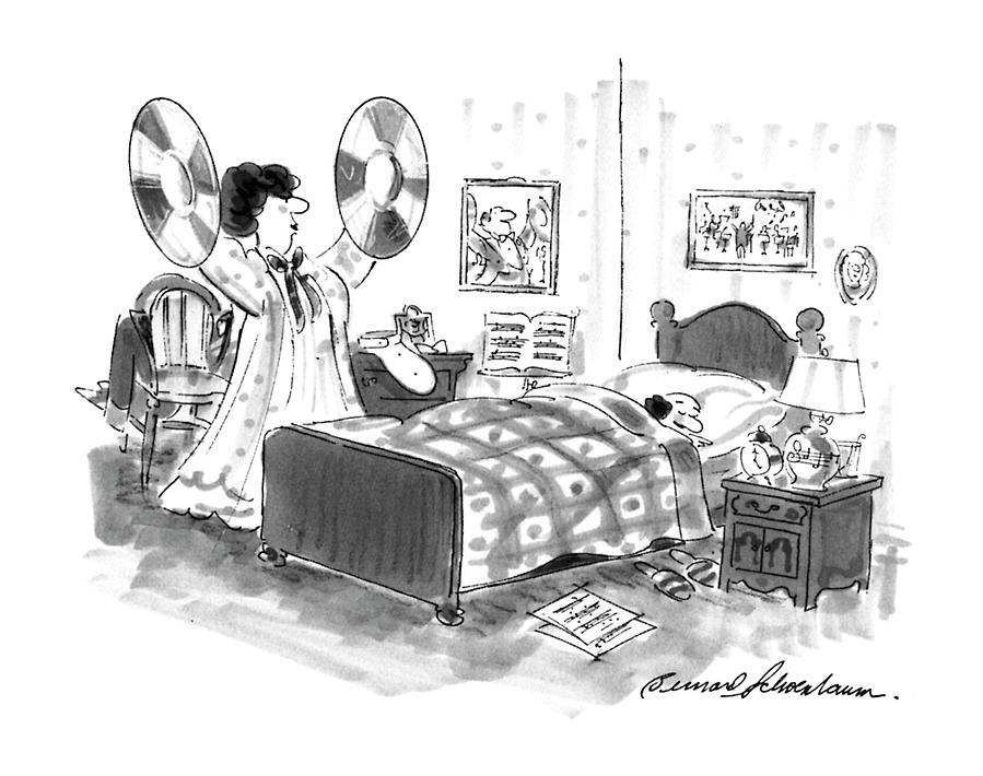 New Yorker August 26th, 1996 Drawing by Bernard Schoenbaum