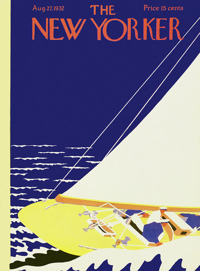 New Yorker August 27 1932 Painting by S Liam Dunne