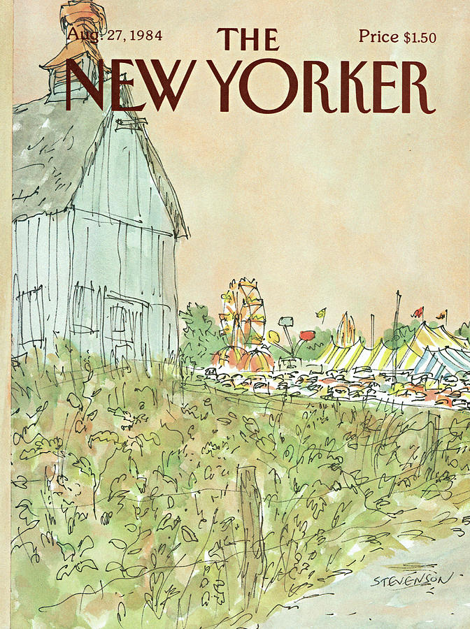 New Yorker August 27th, 1984 Painting by James Stevenson