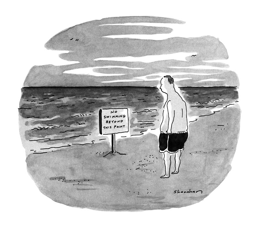 New Yorker August 27th, 1990 Drawing by Danny Shanahan