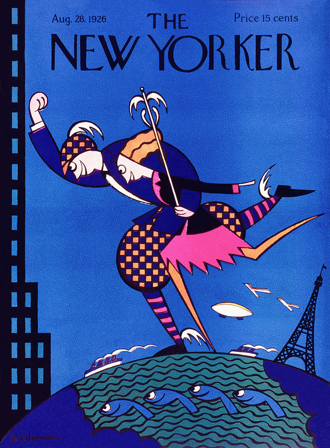 New Yorker August 28 1926 Painting by H. O. Hofman