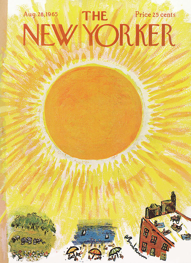 New Yorker August 28th, 1965 Painting by Abe Birnbaum