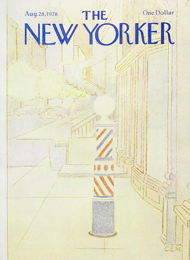 New Yorker August 28th 1978 Painting by Charles E Martin