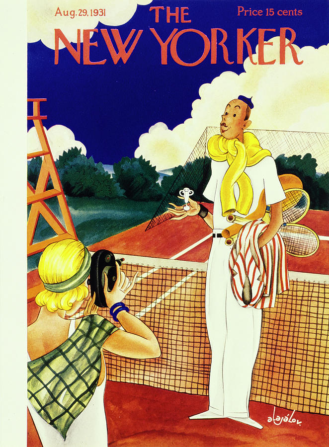 New Yorker August 29 1931 Painting by Constantin Alajalov