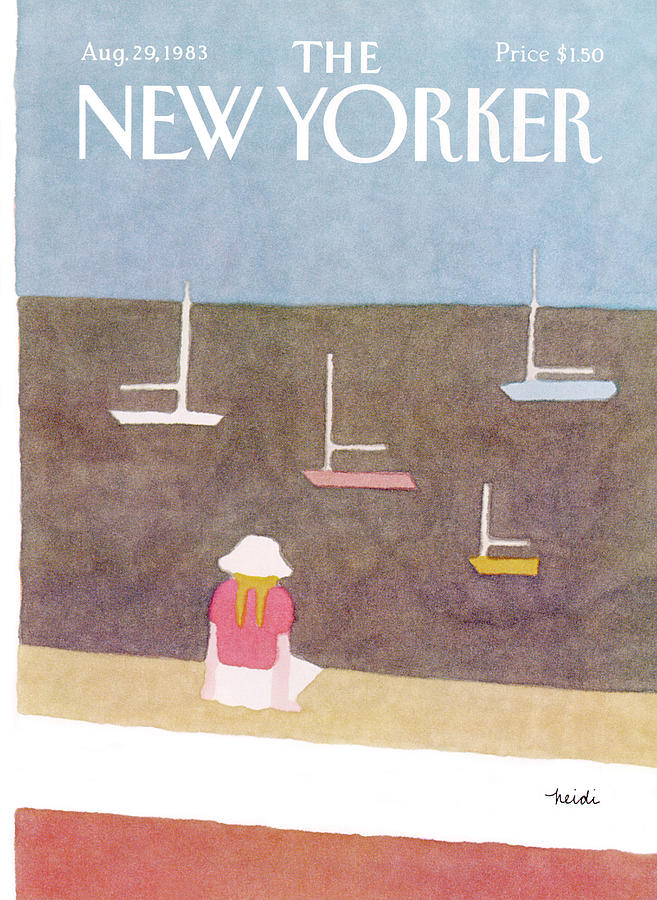 New Yorker August 29th, 1983 Painting by Heidi Goennel