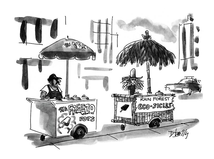 New Yorker August 2nd, 1993 Drawing by Donald Reilly