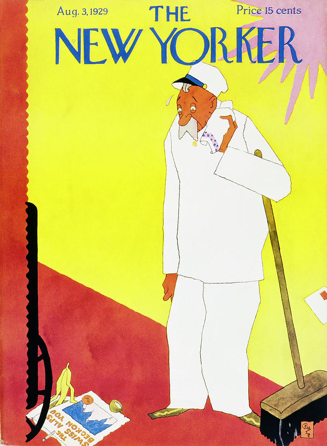 New Yorker August 3 1929 Painting by Gardner Rea
