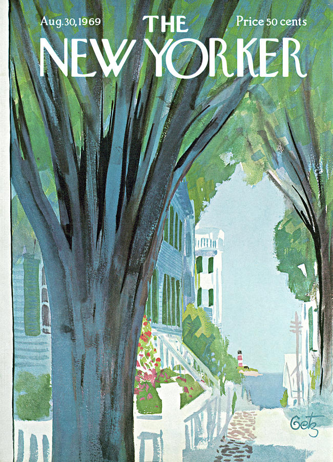 New Yorker August 30th, 1969 Painting by Arthur Getz