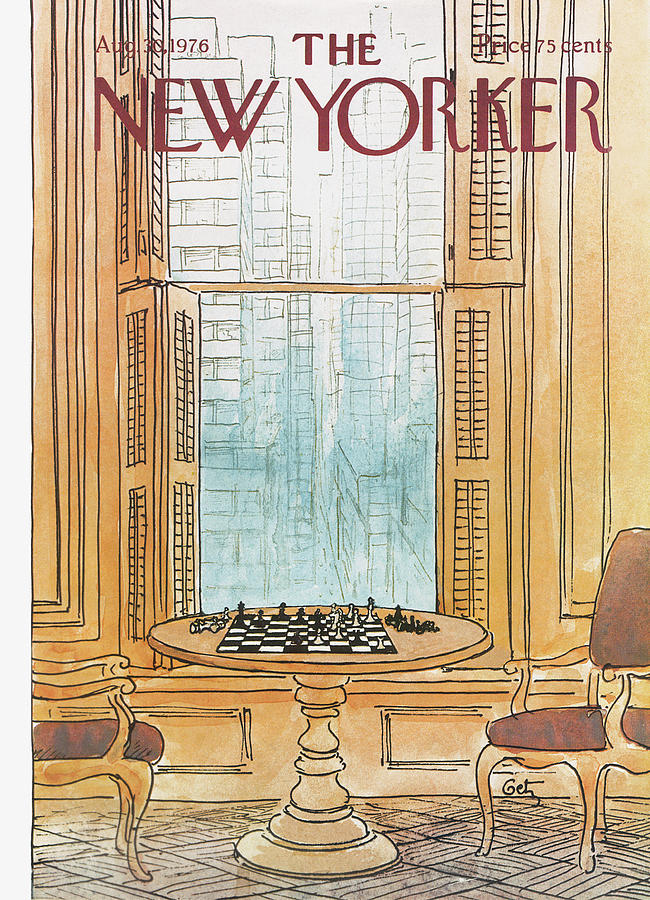 New Yorker August 30th, 1976 Painting by Arthur Getz