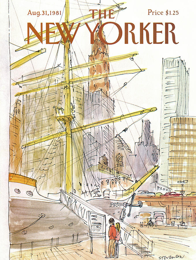 New Yorker August 31st, 1981 Painting by James Stevenson