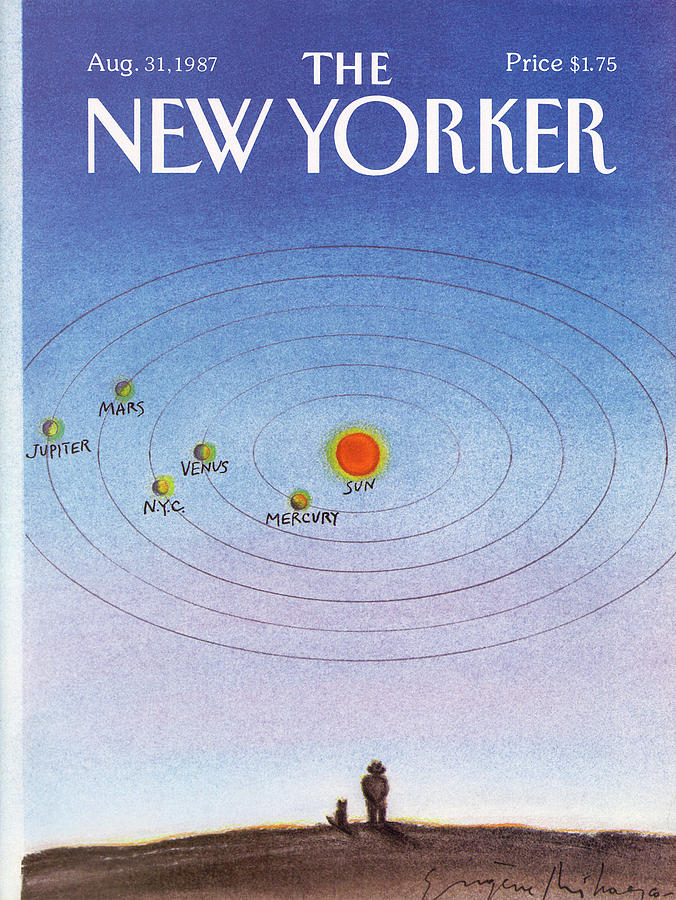 New Yorker August 31st, 1987 Painting by Eugene Mihaesco