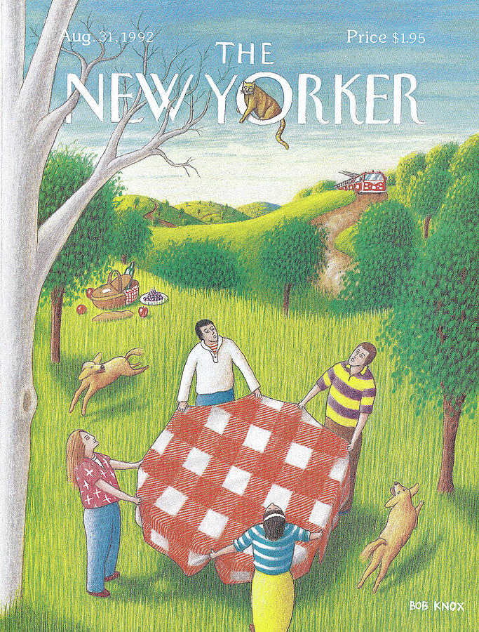 New Yorker August 31st, 1992 Painting by Bob Knox