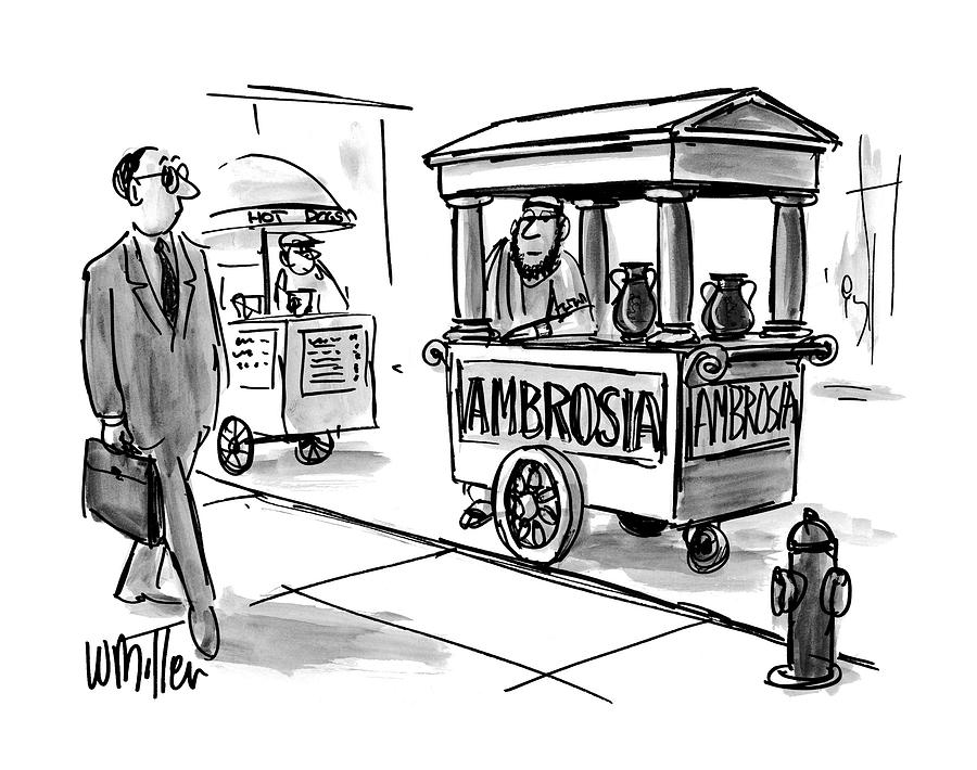 New Yorker August 4th, 1997 Drawing by Warren Miller