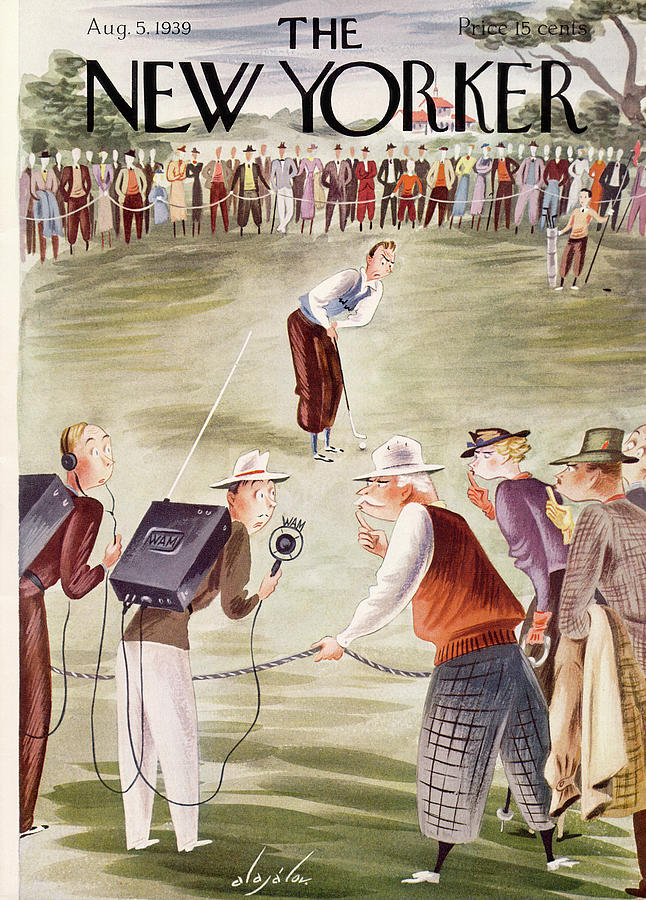 New Yorker August 5, 1939 Painting by Constantin Alajalov