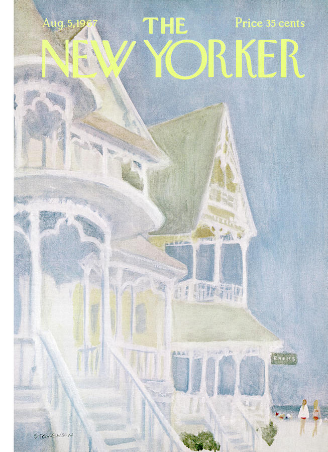 New Yorker August 5th, 1967 Painting by James Stevenson