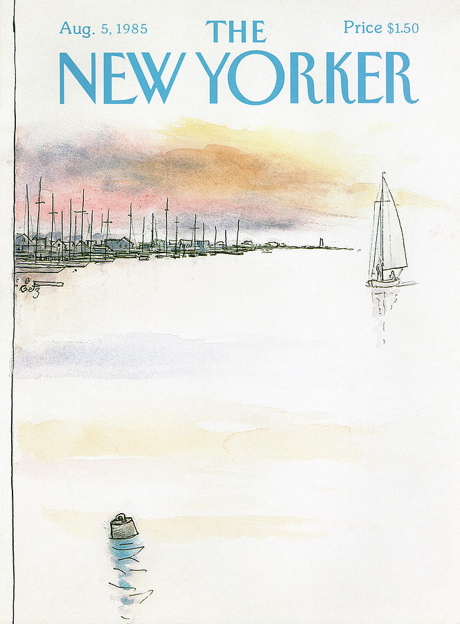 New Yorker August 5th, 1985 Painting by Arthur Getz