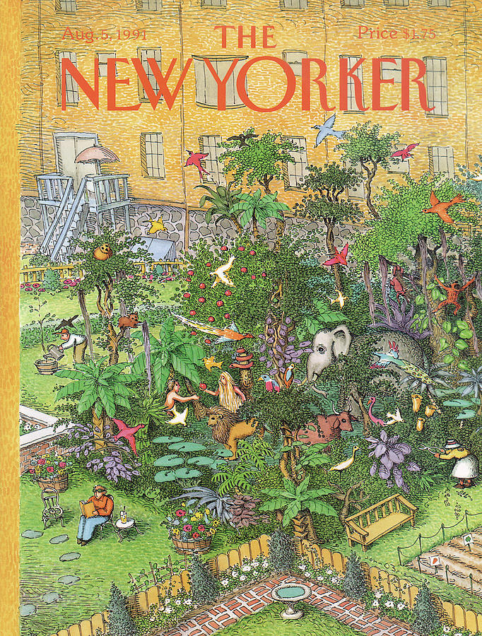 New Yorker August 5th, 1991 Painting by John OBrien