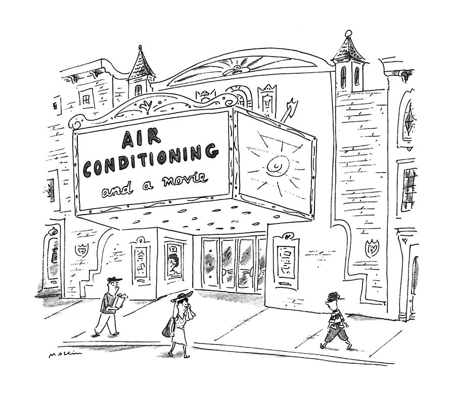 New Yorker August 5th, 1996 Drawing by Michael Maslin