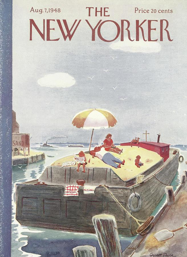 New Yorker August 7th, 1948 Painting by Garrett Price