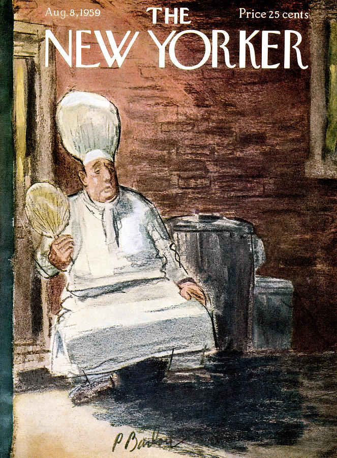 New Yorker August 8th, 1959 Painting by Perry Barlow