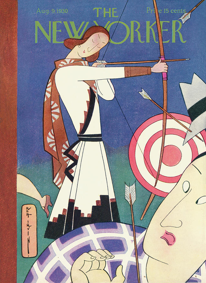 New Yorker August 9th, 1930 Painting by Rea Irvin