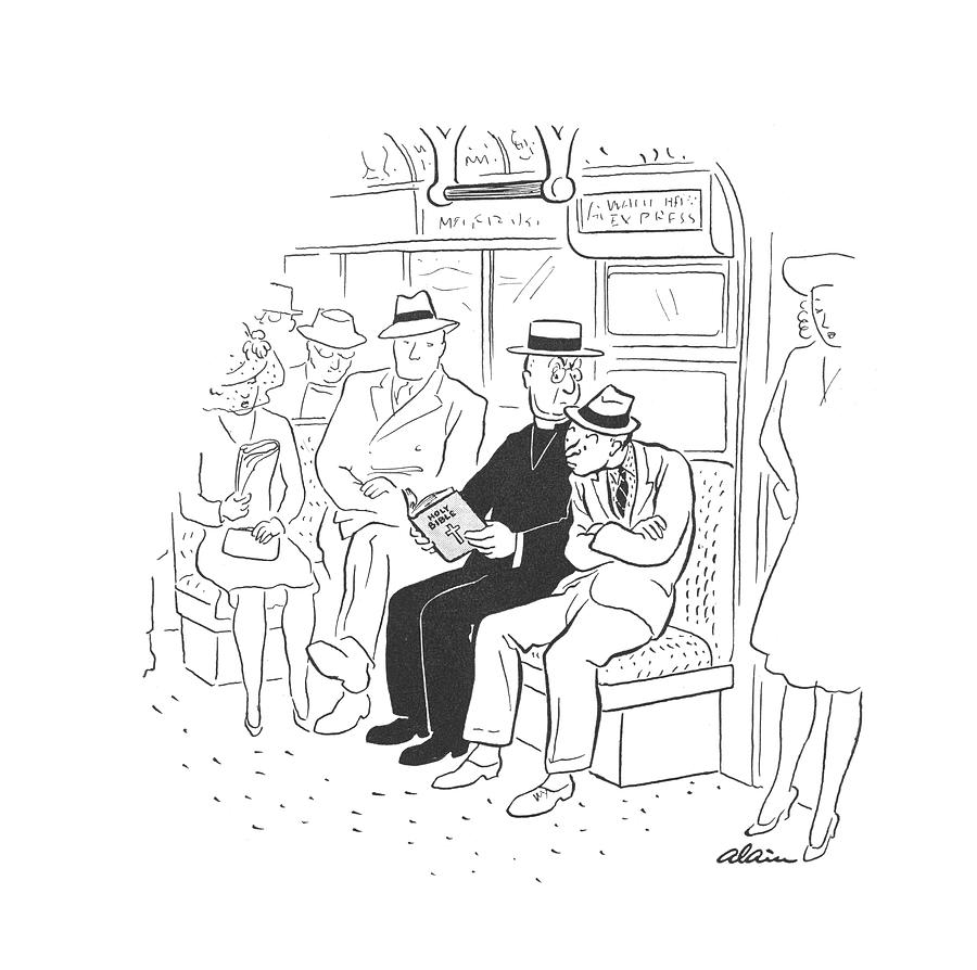 New Yorker August 9th, 1941 Drawing by  Alain