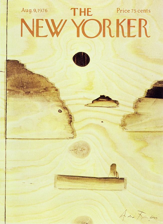 New Yorker August 9th 1976 Painting by Andre Francois