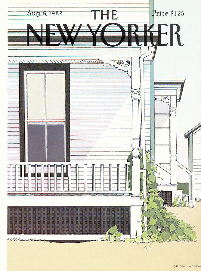 New Yorker August 9th, 1982 Painting by Gretchen Dow Simpson