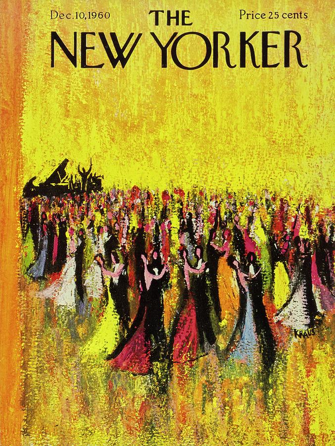 New Yorker December 10th 1960 Painting by Robert Kraus