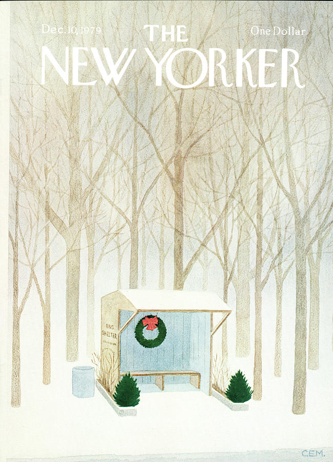 New Yorker December 10th, 1979 Painting by Charles E Martin