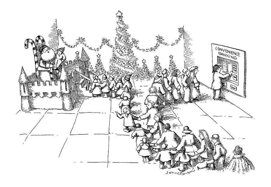 New Yorker December 10th, 1990 Drawing by John OBrien