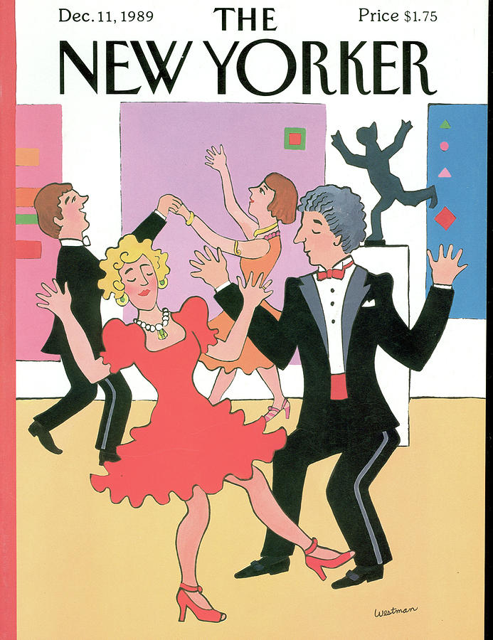 New Yorker December 11th, 1989 Painting by Barbara Westman