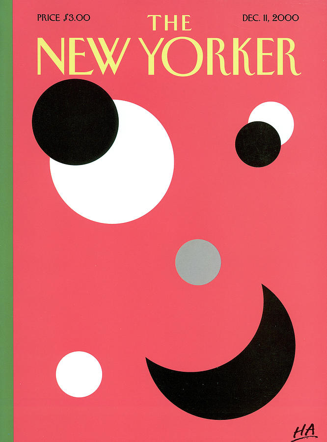 New Yorker December 11th, 2000 Painting by Bob Zoell