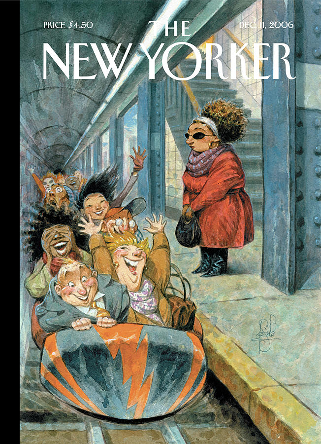New Yorker December 11th, 2006 Painting by Peter de Seve