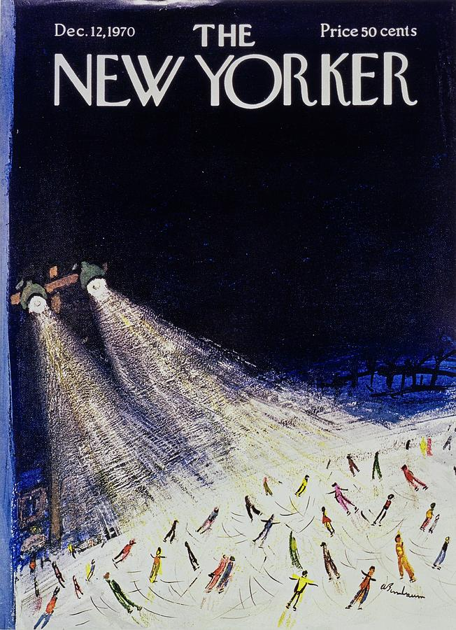 New Yorker December 12th 1970 Painting by Aaron Birnbaum