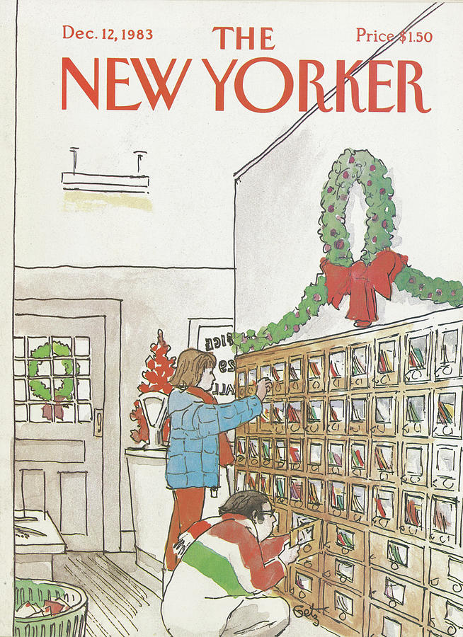 New Yorker December 12th, 1983 Painting by Arthur Getz
