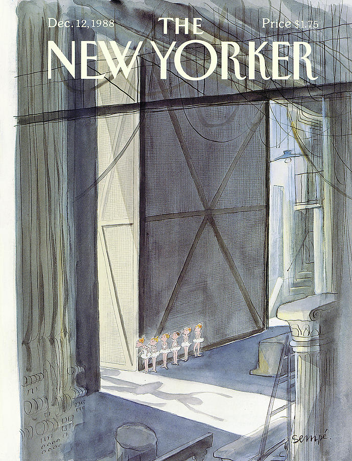 New Yorker December 12th, 1988 Painting by Jean-Jacques Sempe