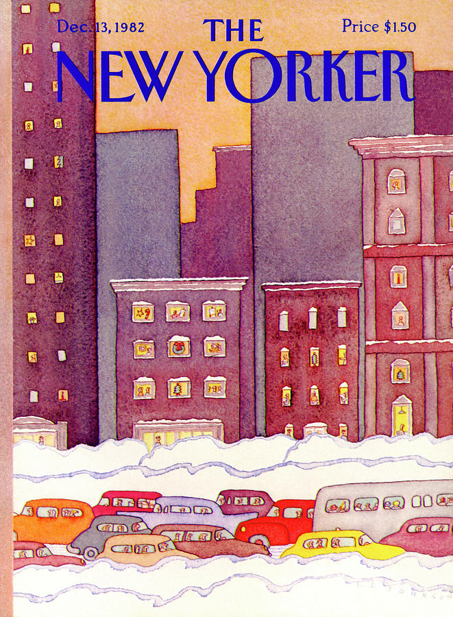 New Yorker December 13th, 1982 Painting by Lonni Sue Johnson
