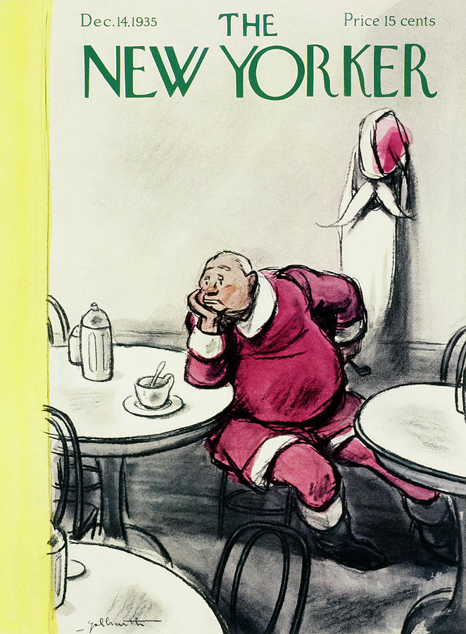 New Yorker December 14 1935 Painting by William Crawford Galbraith