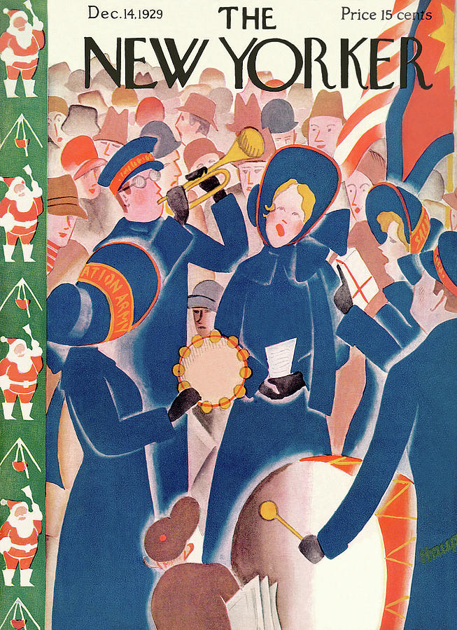 New Yorker December 14th, 1929 Painting by Theodore G Haupt