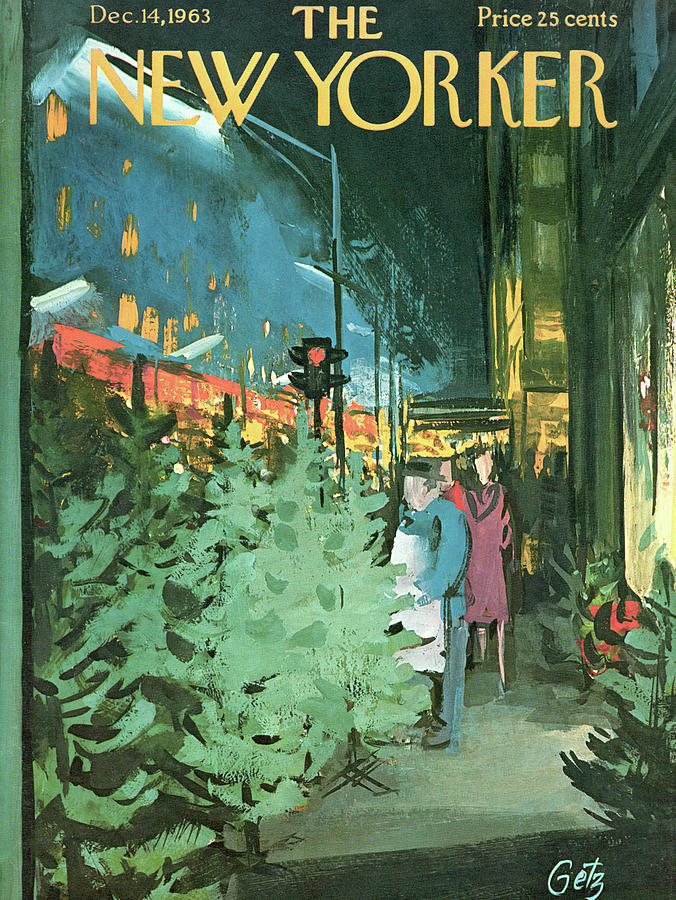 New Yorker December 14th, 1963 Painting by Arthur Getz