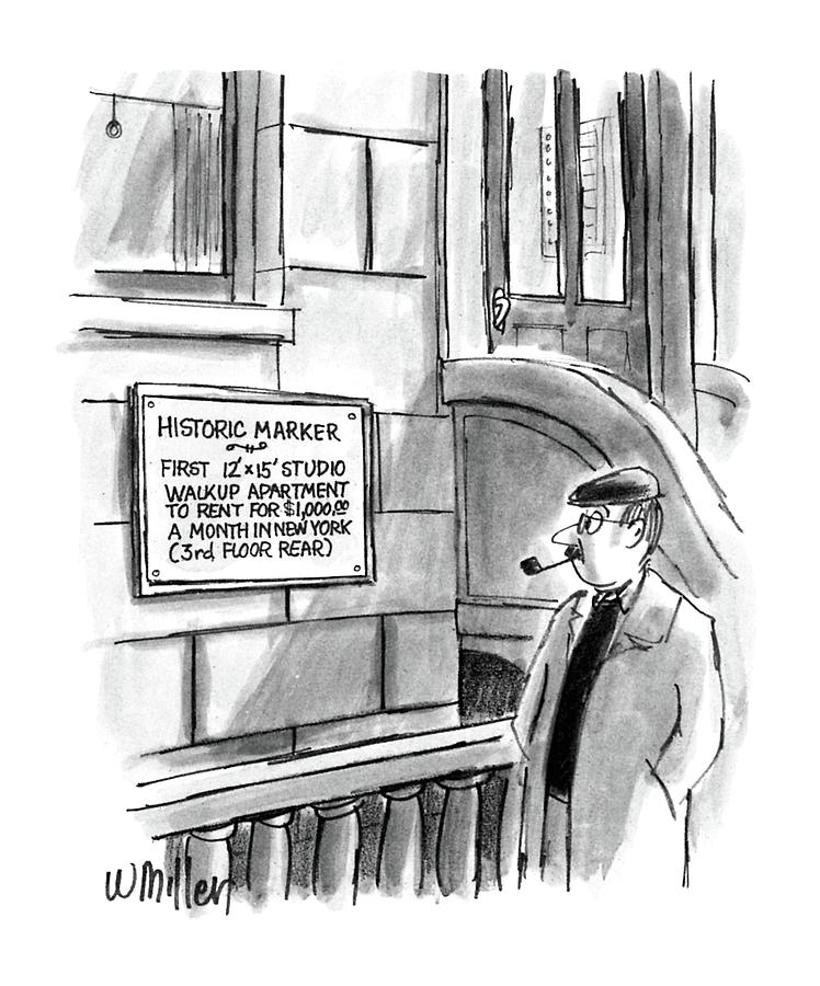 New Yorker December 14th, 1987 Drawing by Warren Miller