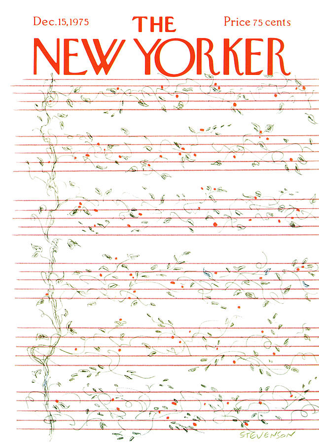 New Yorker December 15th, 1975 Painting by James Stevenson
