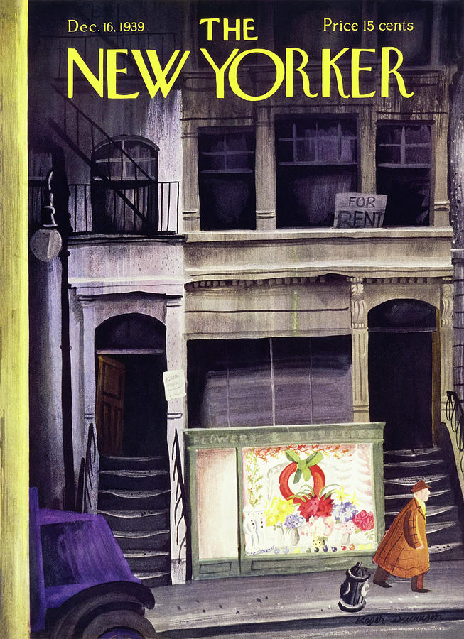 New Yorker December 16 1939 Painting by Roger Duvoisin
