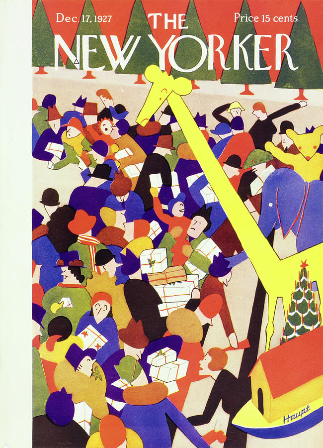 New Yorker December 17 1927 Painting by I G Haupt