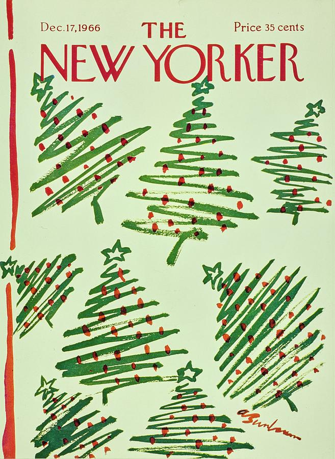 New Yorker December 17th 1966 Painting by Aaron Birnbaum