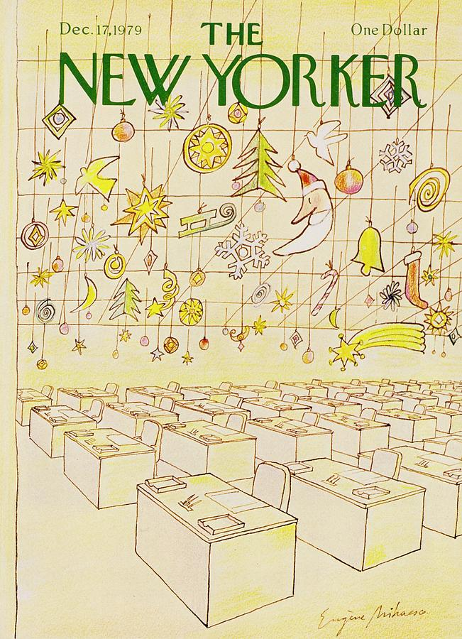 New Yorker December 17th 1979 Painting by Eugene Mihaesco