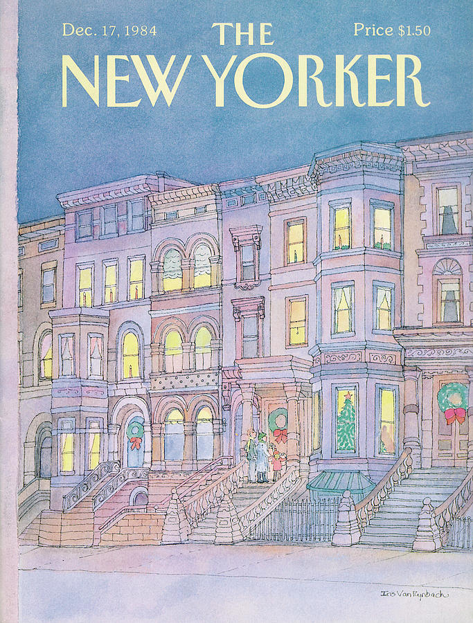 New Yorker December 17th, 1984 Painting by Iris VanRynbach